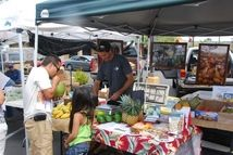 Farmer's markets like this one at Keauhou Shopping Center in Kona, Hawaii, help support local growers and you get great products.