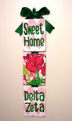 DZ + Lilly. I just ordered this for my sorority! :)