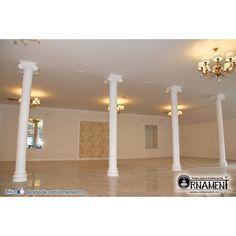 Capitel Ionic pentru Coloana Ornamentala din beton Columns, Chandelier, Ceiling Lights, Lighting, Home Decor, Candelabra, Decoration Home, Room Decor, Chandeliers