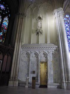 Saint Patrick Statue -- St. Patrick's Cathedral, New York City, New York