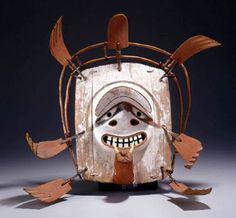 Dance mask Alaska, Nushagak area (att.), Eskimo