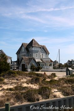 Fabulous visual tour of the homes of Bald Head Island, NC by Our Southern Home The Places Youll Go, Places To See, Kure Beach Nc, Bald Head Island, Going Bald, Bald Heads, Tide Pools, Island Tour, Southern Homes
