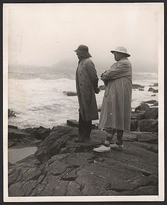 Citation: Andrew Wyeth and N.C. Wyeth, between 1939 and 1945 / Andrew Wyeth, photographer. William E. Phelps papers, Archives of American Art, Smithsonian Institution.