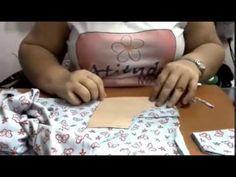 Como fazer calcinha infantil. Parte 2 - YouTube