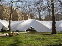 Duospan Saddlespan | marquees and party tents. Tensile structure hire