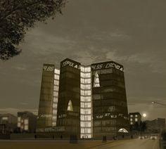 Tehran Stock Exchange Competition, 1st Prize: Alejandro Aravena Architects & VAV Studio
