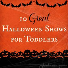 10 Great Halloween Shows for Toddlers -Momo