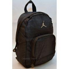 Nike Air Jordan Black Preschool Boy Backpack at OrlandoTrend.com #OrlandoTrend