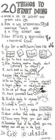 Good list of things to do this summer. Will try most of them:)except the meditating part;)!!