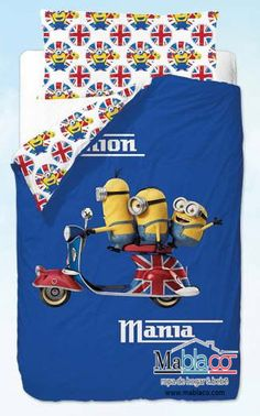 Oferta Sacos Nórdicos Minions GB. ¡Pin it!