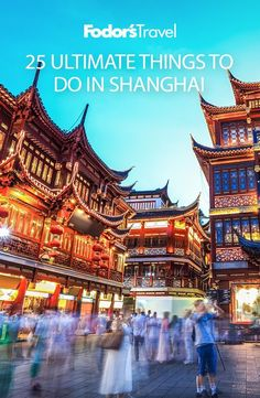 Ultimate Things To Do In Shanghai Shanghai has always been China's capital of all things cosmopolitan. We've rounded up 25 of its best sites.Shanghai has always been China's capital of all things cosmopolitan. We've rounded up 25 of its best sites. China Travel Guide, Asia Travel, China Vacation, China Trip, Travel Guides, Travel Tips, Places To Travel, Travel Destinations, In China