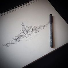 Resultado de imagem para sternum tattoo flower #armtattoosdesigns