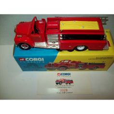 CORGI GETTYSBURG MACK B PUMPER FIRE TRUCK 1:50 SCALE DIE CAST L.E. OF 5200