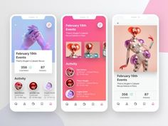 I chose this app because the colors are so fun. – Hannah Vitko I chose this app because the colors are so fun. I chose this app because the colors are so fun. Web Design, Ios App Design, Mobile Ui Design, Interface Design, User Interface, Flat Design, Web Mobile, Mobile App Ui, Layout
