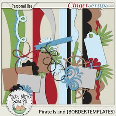 New Release PIRATE ISLAND by TwinMomScraps ON SALE %35 off! Pirate Island BORDER TEMPLATES; http://store.gingerscraps.net/Pirate-Island-BORDER-TEMPLATES.html. 06/09/2013