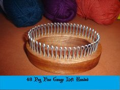 Sock Knitting Loom Fine Gauge Adult Sizes by CottageLooms