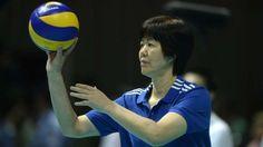 Lang Ping, técnica da seleção chinesa de vôlei, a única mulher na função nos Jogos