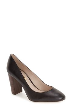 Louise et Cie 'Jianna' Stacked Heel Pump (Women) available at #Nordstrom