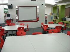 "21st Century Elementary School Design | Of course, that space was also back-to-back with our ""computer lab ..."