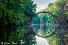 Arch Bridge in Kromlau, Germany