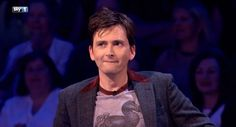 How the heck does he still look exactly like he did ten years ago? The man must have a TARDIS, it's the only explanation!   UK TV PREMIERE: Watch David Tennant On Sky 1's Bring The Noise Tonight