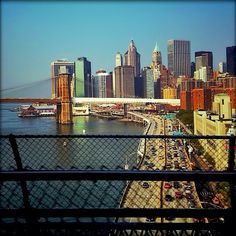 Drive by shooting from the F train. #nyc New York City