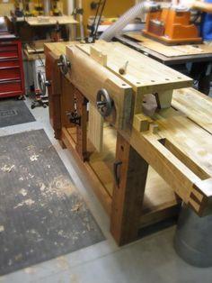 Moxon Vise / Bench on a bench - by lysdexic @ LumberJocks.com ~ woodworking community