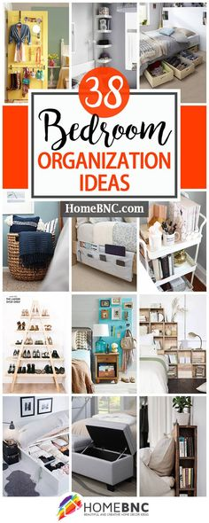 Best Ideas For Home Organization Bedroom Organisation Home Organization Hacks, Organizing Your Home, Closet Organization, Organising, Organization Ideas For Bedrooms, Organisation Ideas, Organizing A Bedroom, Organizing Ideas, Declutter Bedroom