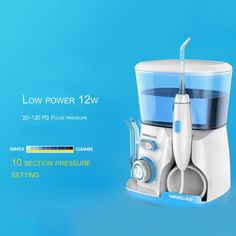 b63f5bf76 Waterpulse V300G 100-240V Flosser Hydro Set Irrigador Oral Water Jet Pick Dental  Floss 800ML
