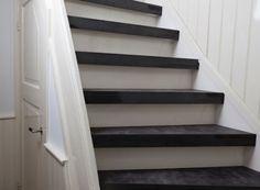 Leder trapbekleding en trapleuningen: voor extreem bijzondere trappen in leer