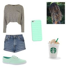 """""""Untitled #104"""" by missyt123 on Polyvore featuring Topshop, Keds and Casetify"""