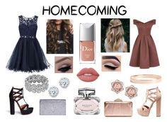 """""""Home Coming Outfits"""" by polancofernanda ❤ liked on Polyvore featuring Laona, Chi Chi, KOTUR, Kobelli, Aquazzura, Yves Saint Laurent, Lana Jewelry, Lime Crime, Gucci and Christian Dior"""