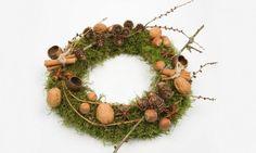 decoracion navidad originales   Coronas navideñas originales - Hogarutil