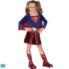 Disfraz de Supergirl para niña