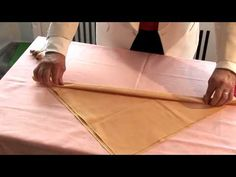 How To Make Christmas Napkins - YouTube Christmas Napkins, Christmas Candle, Napkin Folding, How To Fold Towels, Fun Activities, Activity Days, Xmas Decorations, Lana, Hobby