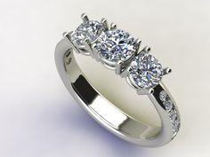 Trilogy diamanti www.gioiellioro.eu