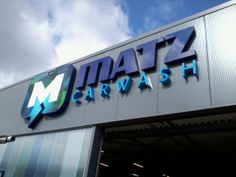 LED reclame Matz Carwash
