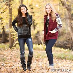 It's getting #chilly out there! Check out our site for new #fall essentials to keep you #comfy all day long! #FEGirl // ForElyse.com