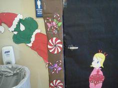 Whoville door decoration idea for prek door! 1