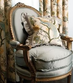 French Interiors   Graceful Interiors; Fresh & Traditional Design