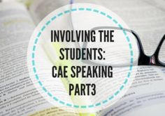 Involving the students: CAE speaking part 3 Cambridge Advanced, Knowledge, Teaching, Students, English, Falling Down, Consciousness, English Language, Education