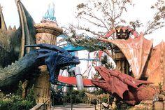 Universal Studios Islands of Adventure - Dueling Dragons