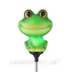 Fröhliche LED-Solar-Dekorationsleuchte Heribert 4014565