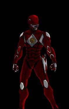 Red Ranger re-imagining by ConstantM0tion