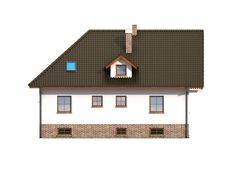 DOM.PL™ - Projekt domu DP frydman CE - DOM PK1-23 - gotowy koszt budowy House Plans, Mansions, House Styles, Dom, Home Decor, Model, Houses, Decoration Home, Manor Houses