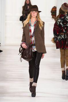 Défile Ralph Lauren Collection Prêt-à-porter Automne-hiver 2014-2015 - Look 11