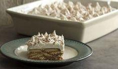 Από τον Άκη Πετρετζίκη: Πανεύκολο γλυκό ψυγείου με μπισκότα Δείτε την σούπερ συνταγή που...