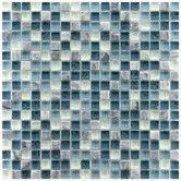 """Found it at Wayfair - Sierra 0.625"""" x 0.625"""" Glass and Natural Stone Mosaic Tile in Gulf"""