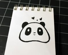 31 Days of Inktober - Day 15 Panda Squishy