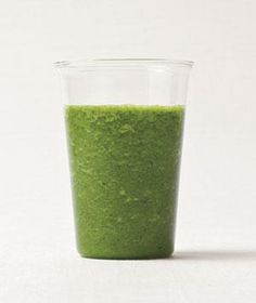 Kale-Apple Smoothie recipe. (The apple juice and bananas mask the vegetable flavors so well, you'll barely taste the kale.)